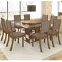 Conjunto Para Sala De Jantar Mesa E 8 Cadeiras Viero Melissa