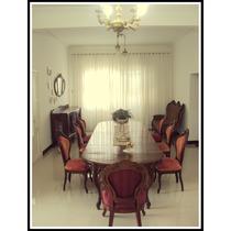 Sala De Jantar Luis Xv.antiga .8 Cadeiras E Buffet