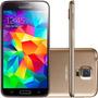 Samsung Galaxy S5 G900 Desbl. Gold Parcelado 12x S/ Juros