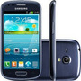 Samsung Galaxy S3 Mini I8190 4.1,8gb Gps,grafite,semi-novo.
