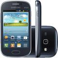 Samsung Galaxy Fame Duos S6812 Grafite 5mp 4gb Gps   Vitrine