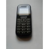 Celular Samsung - Gt-e1205 Usado Sem Bateria E Tampa Tras.!