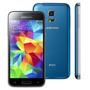 Smartphone Galaxy S5 Mini Desbloqueado Azul / Dual Chips / C