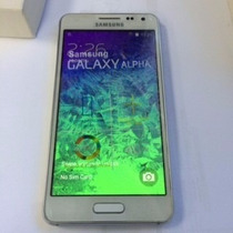 Celular Barato Samsung Alpha Ztc + Pelicula + Capa Protetora