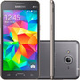 Telefone Celular Samsung Galaxy Gran Prime Cinza 1 Gb Ram