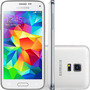 Samsung S5 Mini Duos Branco G800 Novo Anatel 16gb 3g Cam 8mp