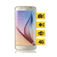 Celular Desbloqueado Samsung Galaxy S6 Edge Dourado Webfones