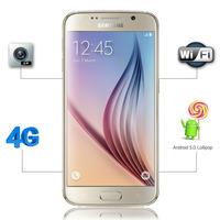 Celular Desbloqueado Samsung Galaxy S6 Dourado Webfones