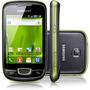 Smartphone Galaxy Mini Preto/verde Android 2.2 - Samsung