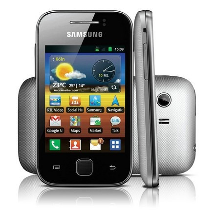 Samsung Galaxy Y S5360 Gps 3g Wifi Android 2.3 Anatel Br+nf