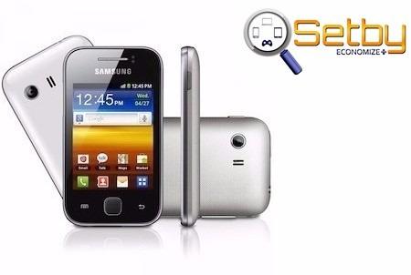 Samsung Galaxy Y S5360b Android 2.3 3g Wi-fi Novo Prata