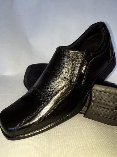 Sapato Social Em Couro