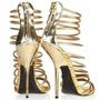 Sandalia Dourada Importados (pequenos Defeitos)