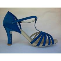 Sandália Para Dança Capezio Cj05 Azul Ou Rosa