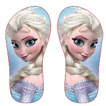 Chinelo Personalizado Frozen Elza