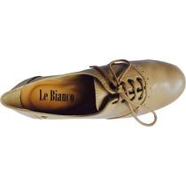 Sapato Oxford Nude Le Bianco- 575
