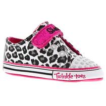 Tenis Skechers Twinkle Toes Infantil N17 Ao N20 89244n/wbhp