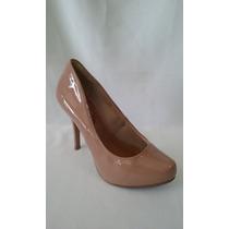 Sapato Crysalis Verniz Salto 12 Cm