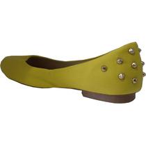 Sapatilha Amarela Com Spike Novo Modelo *linda*