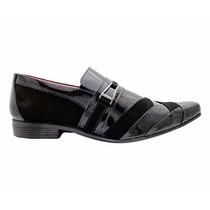 Sapatos Masculino Sociais Luxo Masculino Hiper Flex Preto