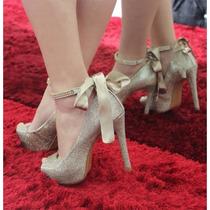 Sapato Zariff Shoes Peep Toe Festa Noiva   Zariff