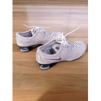 Tênis Nike Num.35 Importado Creme Camurça Us 6 Original