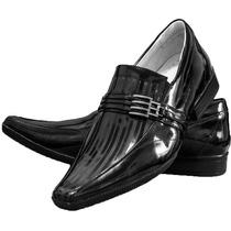 Sapato Social Couro Envernizado Original Alcalay Confort