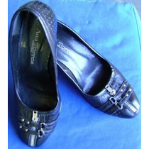 Sapato Feminino Ana Torres Preto N. 36 (c2g2)