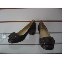 Sapato Em Couro Confort Zeket - Promoção!!!!!