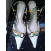 Sapato Scarpin Bico Fino Couro Costurado Marca Saad Lindoooo