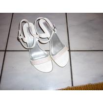 Sandália Branca Firezzi -especial Noite!!,37