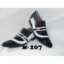Sapato Masculino Luxo Em Couro Modelos (207 Ao 213)