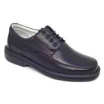 Sapatos Com Número Especial 44, 45, 46, 47 Couro Carneiro