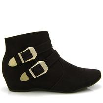 Bota Ankle Boot Vizzano 3043103 - Marrom Café