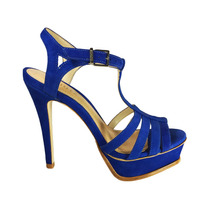 Sandália Schutz Meia Pata Azul