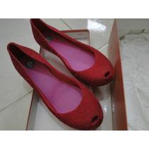 Melissa Ultra Flocão Rosa 36 E 37 - Promoção Somente R$ 69