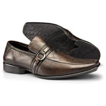 Sapato Masculino Social Em Couro Legítimo Alcalay Ref: 72002
