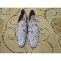 Sapato Casual Branco E Preto Tam. 42 Pulo Do Gato Bom Estado