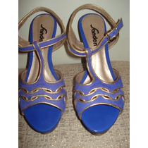 Sandalia Tipo Peep Toe Da Sanden Nº 36 E 38 Novas/ Sem Uso