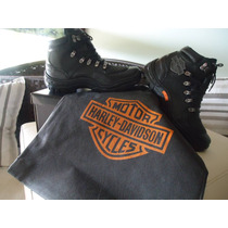 Bota Harley Davidson 100% Couro