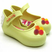 Sapatilha Infantil Hello Kitty My Sweet Verde Opaco - Ninin