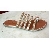 Rasteirinha Sapatos Femininos Atacado 6 Pares P/ Revenda
