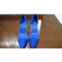 Scarpin Azul Royal Arezzo (tenho Schutz)