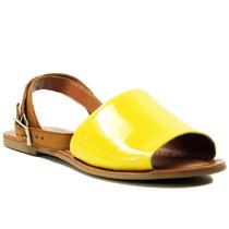 Sandália Dakota Avarca Em Verniz