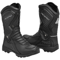 Bota Coturno Motoqueiro Roqueiro Boot Adventure Acero Speed