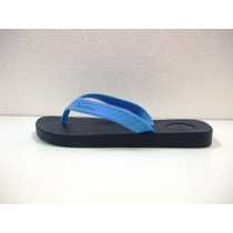 Chinelo Ipanema Anotomica Surf Preto / Azul