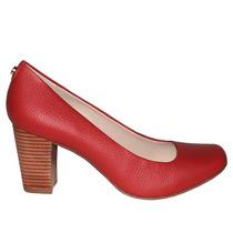 Sapato Feminino Couro Jorge Bischoff J40021062 Original+n.f