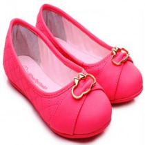 Sapatilha Pink Com Aplique Lilica Ripilica-tamanho 35