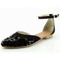 Sapatilha Glamm Pulseira Onça Preta - Sapatos Mania