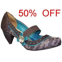 50% Off Sapato Dakota Tanara Buriti Marrom N2334-0001
